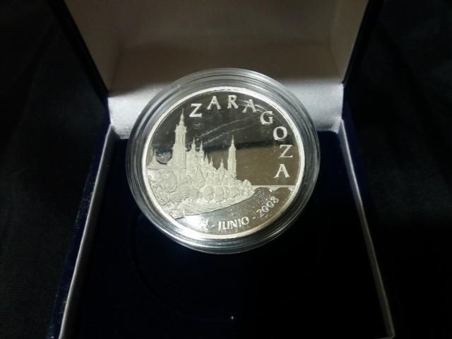 Moneda Plata Expo Zaragoza 2008