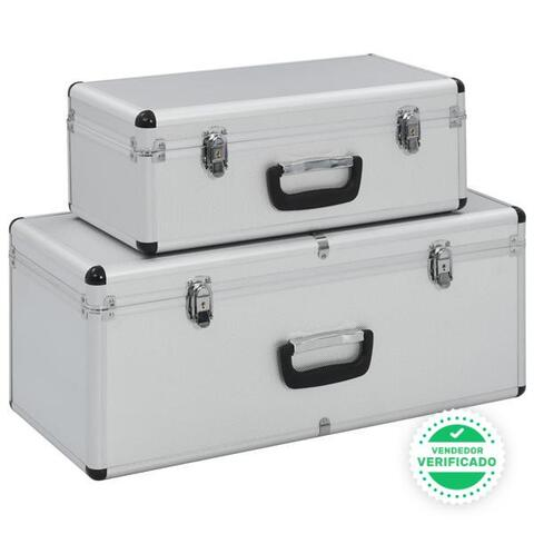 Cajas Almacenamiento Unidades Aluminio