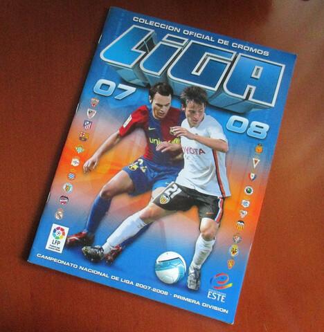 Album Liga Este 2007 - 2008 Casi Vacio