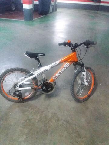 """Bici 20"""" Aluminio,  Cambios Y Suspensión."""