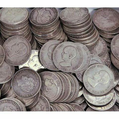 Compro Monedas De Plata Antigüas