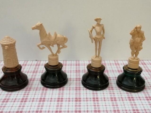 Figuras Avon. Colección Don Quijote