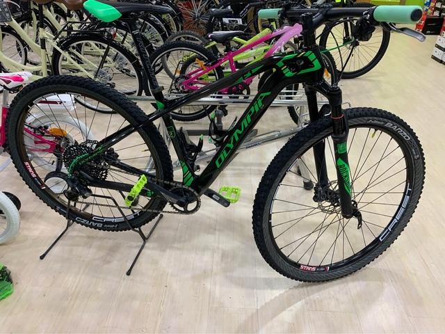 Bicicleta Montaña Olympia F1 De Carbono