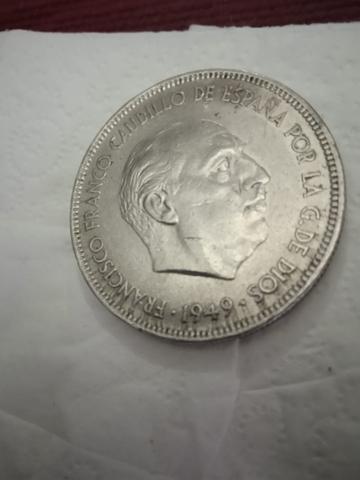 Moneda De Franco 1949