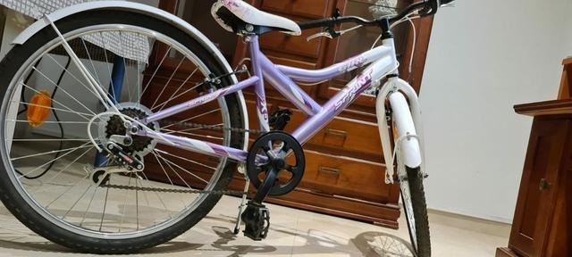 Bicicleta De Montaña De 24 Pulgadas Para