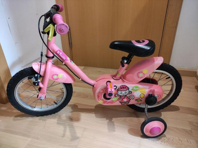 """Vendo Bici Ruedas 14"""""""