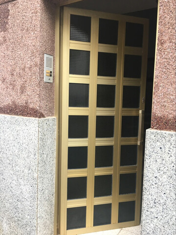 Puerta De Aluminio.