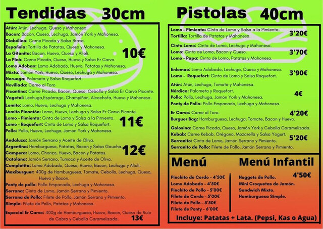 NUESTRAS RICAS ESPECIALIDAD EN TENDIDA - foto 3