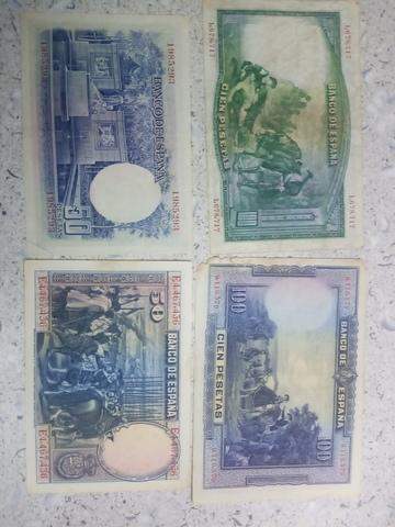 Billetes Antiguos Auténticos