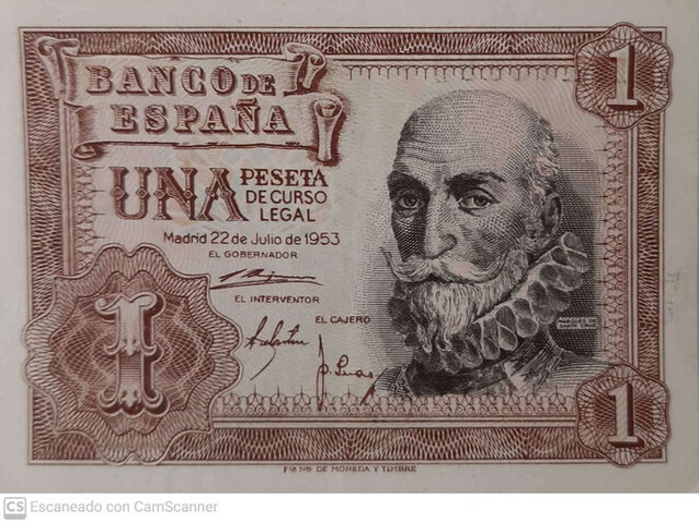 1 Peseta 1953