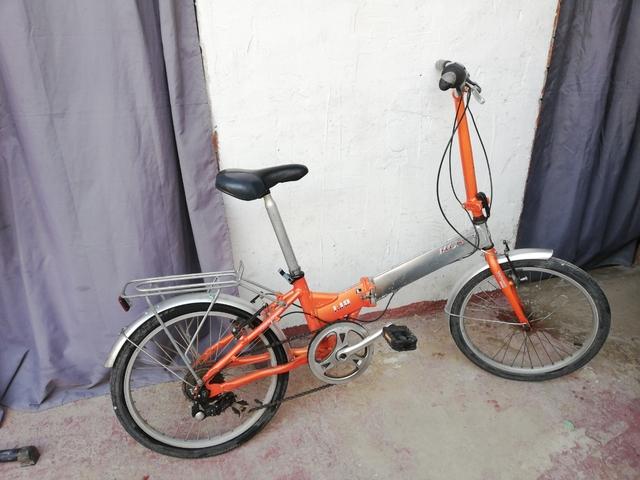 Bicicleta Monty F19 Plegable Aluminio