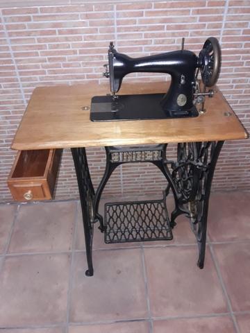 Máquina De Bordar Singer 1904-1905