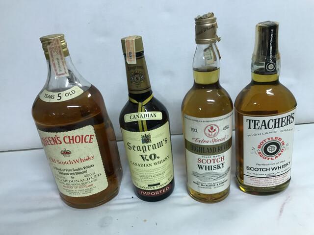 Lote De 4 Botellas Whisky