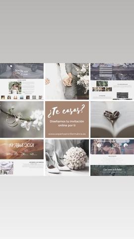 INVITACIONES DE BODA ONLI E - foto 1