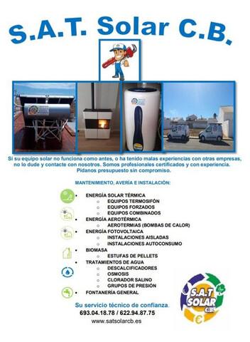 TÉCNICO EN ENERGÍA SOLAR TÉRMICA - foto 1