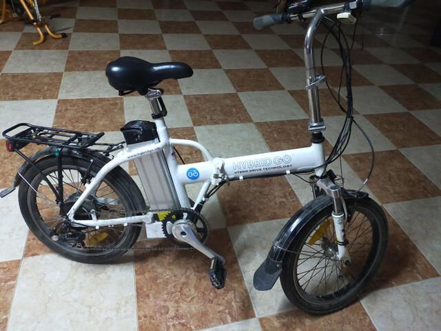 Bicicleta Eléctrica Plegable Paseo