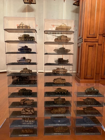 Tanques Altaya, Carros De Combate.