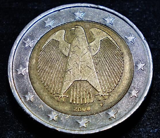 Moneda 2 Euros Alemania Gran Error