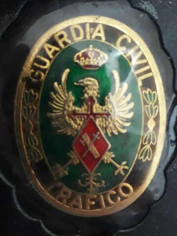 Placa De La Guardia Civil