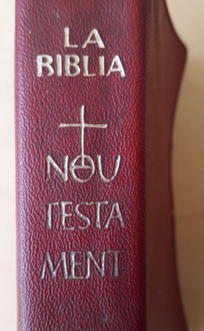 Libro Biblia Montserrat Años 60