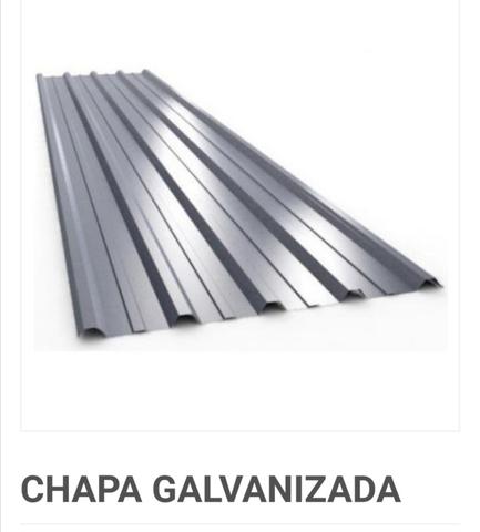 3 Chapas Nuevas  Trapezoidal Galvanizada