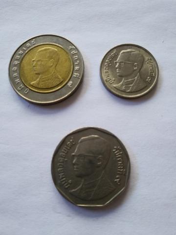 Monedas De Tailandia