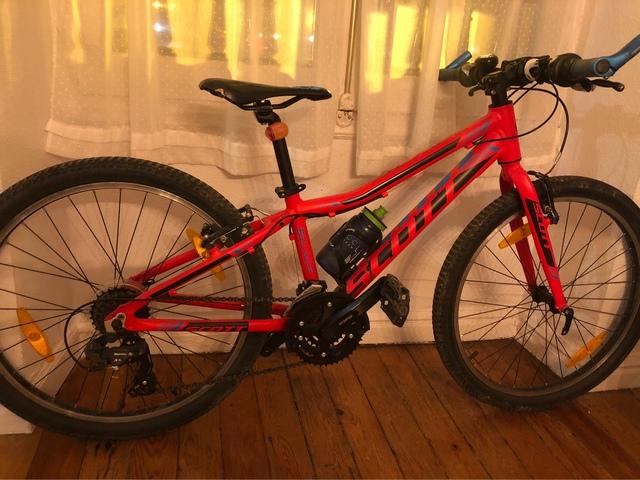 """Bicicleta Scott 24"""""""