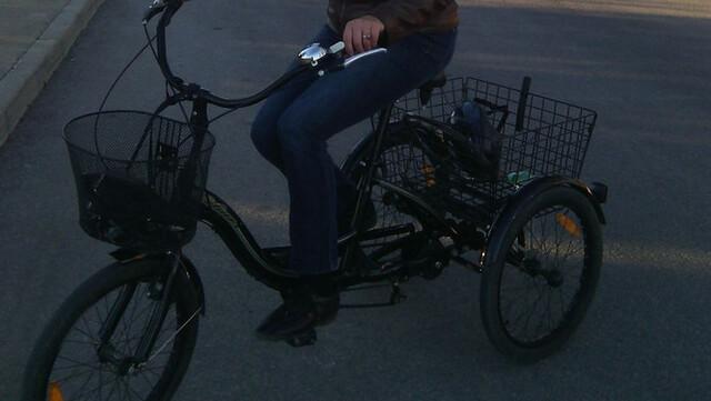Vendo Bicicleta De Tres Ruedas
