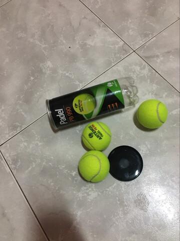 Bote De 3 Pelotas De Tenis Nuevas