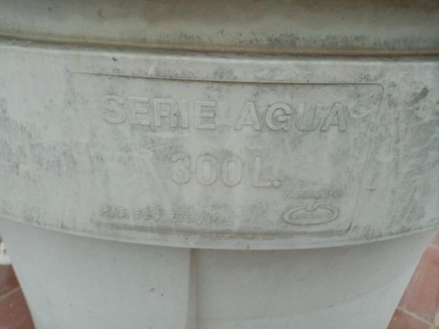 Depósito De Agua Potable 300L Pvc