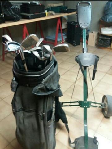 Bolsa,  Palos Y Carrito De Golf