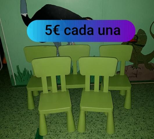 SE VENDE MOBILIARIO ESCOLETA INFANTIL.  - foto 9