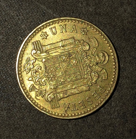 Moneda 1 Peseta 1975 / 19-78