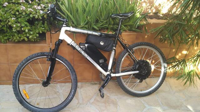 Bicicleta Btt Electrificada