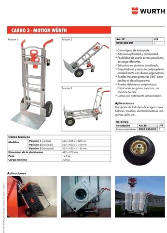 Carro Transporte,  Carretilla 300 K Nuevo