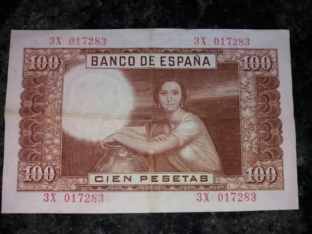 Cien Pesetas 1953