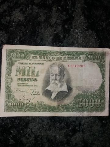 1000 Pesetas 1951