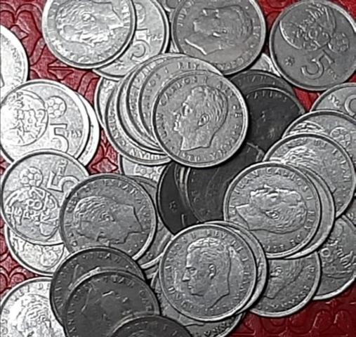 300 Monedas De 5 Pesetas Mundial 82