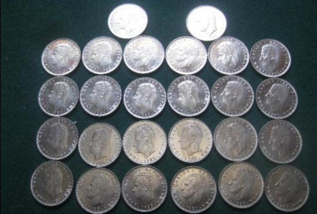 250 Monedas De 25 Pesetas Mundial 82