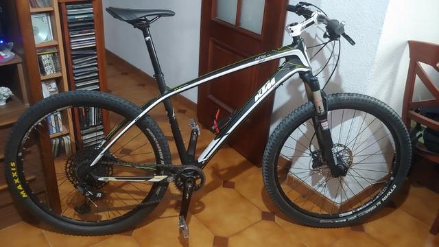 Bicicleta Ktm De Carbono