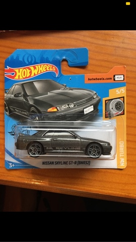 Hot Wheels Nissan Skyline Gt-R (Bnr32)