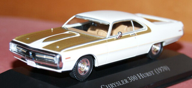Chrysler 300 Hurst 1970 Escala 1:43 De A