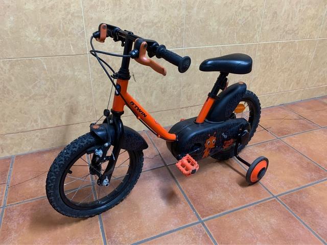 Bicicleta Para Niño/A De 3/4 Años.