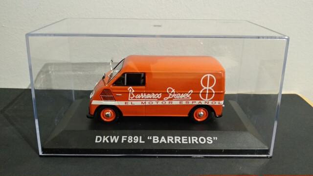 Furgoneta Dkw F89L - Barreiros