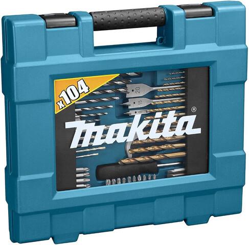 Makita Juego De 104 Brocas Y Puntas
