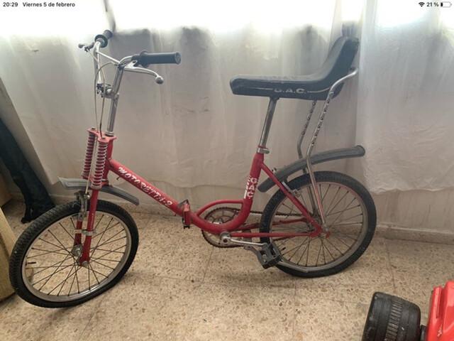 Bicicleta Gac Motoreta Para Restaurar