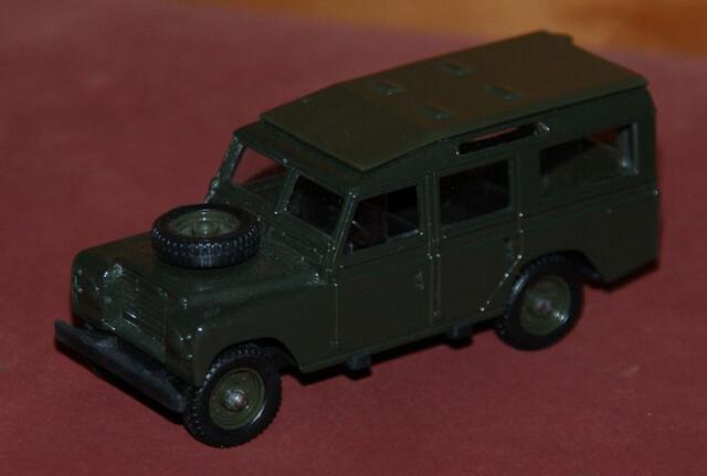 Land Rover 109 Escala 1:43 De Solido En