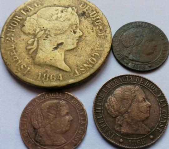 Monedas Españolas Antiguas
