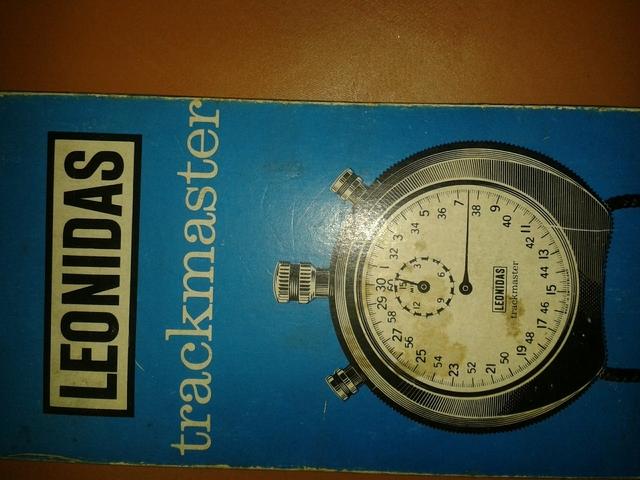 Cronometro Leonidas Trackmaster