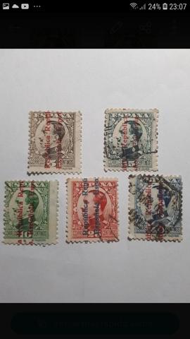 Sellos España 1931 Alfonso Xiii Sobrecar